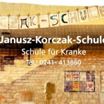 Eingang der Janusz Korczak Schule Aachen